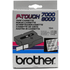 Brother TX-151 Original P-Touch Black on Clear Tape 24mm x 15m