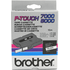 Brother TX-211 Original P-Touch Black on White Tape 6mm x 15m