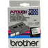 Brother TX-241 Original P-Touch Black on White Tape 18mm x 15m