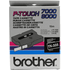 Brother TX-335 Original P-Touch White on Black Tape 12mm x 15m