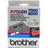 Brother TX-431 Original P-Touch Black on Red Tape 12mm x 15m
