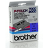 Brother TX-551 Original P-Touch Black on Blue Tape 24mm x 15m