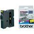 Brother TX-641 Original P-Touch Black on Yellow Tape 18mm x 15m