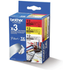 Brother TZE-31M3 Original P-Touch 12mm Gloss Tape Pack