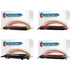 CLT-P4072C Compatible Black and Colour Toner Cartridge Multipack