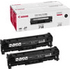 Canon 718BK (2662B005AA) Original Black Toner Cartridge Twinpack