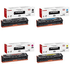 Canon 731 BK/C/M/Y Original Black & Colour Toner Cartridge Multipack