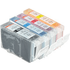 Canon BCI-3e BK/ BCI-6 C/ M/ Y Compatible Black & ColourInk Cartridge 4 Pack