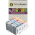 Canon BCI-3e BK/ C/ M/ Y Compatible Black & Colour Ink Cartridge 4 Pack