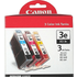 Canon BCI-3e C/ M/ Y Original Colour Ink Cartridge 3 Pack