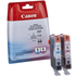 Canon BCI-6 PC/PM Original Photo Cyan and Photo Magenta Ink Cartridge Pack