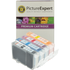 Canon BCI-6 BK/ C/ M/ Y Compatible Black & Colour Ink Cartridge 4 Pack