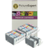 Canon BCI-6 BK/C/M/Y/PC/PM Compatible Black & Colour Ink Cartridge 14 Pack