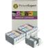 Canon BCI-6 BK/C/M/Y/PC/PM Compatible Black & Colour Ink Cartridge 14 Pack
