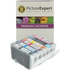 Canon BCI-6 BK/ C/ M/ Y/ PC/ PM Compatible Black & Colour Ink Cartridge 6 Pack