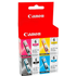 Canon BCI-6 Bk/ C/ M/ Y Original Black & Colour Ink Cartridge 4 Pack