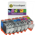 Canon CLI-42 (6384B010) Compatible Black & Colour Ink Cartridge 8 Pack