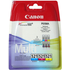 Canon CLI-521 C/M/Y Original Colour Ink Cartridge 3 Pack