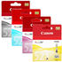 Canon CLI-521 BK/C/M/Y Original Black & Colour Ink Cartridge 4 Pack
