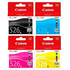 Canon CLI-526 B/C/M/Y Original Black & Colour Ink Cartridge 4 Pack