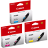 Canon CLI-551 C/M/Y Original Colour Ink Cartridge 3 Pack