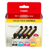 Canon CLI-571 BK/C/M/Y Original Black & Colour Ink Cartridge 4 Pack