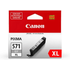 Canon CLI-571GYXL Original High Capacity Grey Ink Cartridge