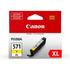 Canon CLI-571YXL Original High Capacity Yellow Ink Cartridge