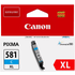 Canon CLI-581C XL Original High Capacity Cyan Ink Cartridge