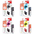Canon CLI-8 BK/C/M/Y Peach Compatible Black & Colour Chipped Ink Cartridge 4 Pack
