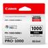 Canon PFI-1000MBK Original Matte Black Ink Cartridge
