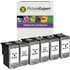Canon PG-40 / CL-41 Compatible Black x4, Colour x2 Ink Cartridge 6 Pack