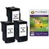 Canon PG-512 Compatible Black x 2 & CL-513 Compatible Colour Ink Cartridge & 50 Sheets 240g 4x6 Photo Paper