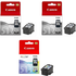 Canon PG-512 / CL-513 Original High Capacity Black & Colour Ink Cartridge 3 Pack