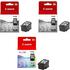 Canon PG-512 / CL-513 Original High Capacity Black & Colour Ink Cartridge 3 Pack