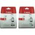 Canon PG-545XL & CL-546XL Original High Capacity Black & Colour Ink Cartridge 2 Pack