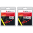 Canon PG-545XL/CL-546XL AGFA Premium Compatible High Capacity Black & Colour Ink Cartridge 2 Pack