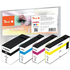 Canon PGI-1500XL (9182B004) Compatible High Capacity Black & Colour Ink Cartridge 4 Pack