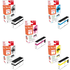 Canon PGI-1500XL (9182B004) Compatible High Capacity Black & Colour Ink Cartridge 5 Pack