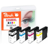Canon PGI-2500XL Compatible Black & Colour Ink Cartridge 4 Pack