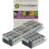 Canon PGI-5 BK, CLI-8 BK/ C/ M/ Y Compatible Black & Colour Ink Cartridge 16 Pack