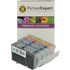 Canon PGI-5 BK, CLI-8 C/ M/ Y Compatible Black & Colour Ink Cartridge 4 Pack