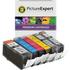 Canon PGI-520/CLI-521 Compatible Black & Colour Ink Cartridge 6 Pack (incl. Grey)