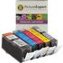 Canon PGI-520BK / CLI-521 BK/C/M/Y Compatible Black & Colour Ink Cartridge 5 Pack