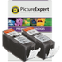 Canon PGI-520BK Compatible Black Ink Cartridge TWINPACK