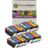 Canon PGI-520/ CLI-521 Bk/C/M/Y Compatible Black & Colour Ink Cartridge 20 Pack