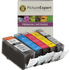 Canon PGI-520BK / CLI-521 BK/C/M/Y Compatible Black & Colour Ink Cartridge 5 Pack
