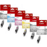Canon PGI-520BK/ CLI-521 BK/C/M/Y/GY Original Black & Colour Ink Cartridge 6 Pack