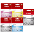 Canon PGI-520BK/ CLI-521 BK/C/M/Y Original Black & Colour Ink Cartridge 5 Pack