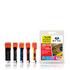 Canon PGI-525/ CLI-526 Jettec Compatible Black & Colour Ink Cartridge 5 Pack